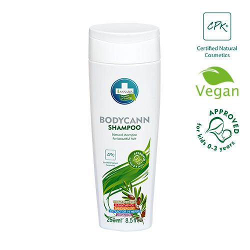 BODYCANN Shampoo 250ml für sensible Haut von ANNABIS