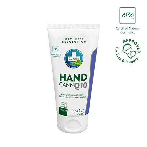 HANDCANN Q10 Handcreme von ANNABIS mit Coenzym Q10, Hanfsamenöl usw