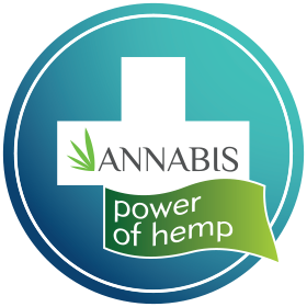 Zertifizierte Naturkosmetik von ANNABIS - Handcreme, Gelenk-, Haut-, Gesichtspflege mit Hanf - Die Kraft des Hanfes Logo