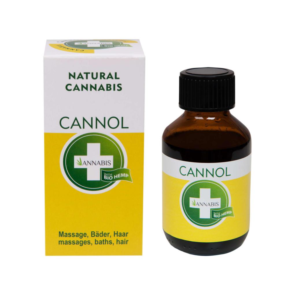 CANNOL 100ml Hanföl Citrusfrüchte Massageöl von ANNABIS