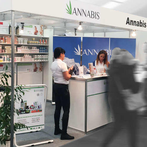Photo Annabis beim Cannafest Hanf Fachmesse in Prag