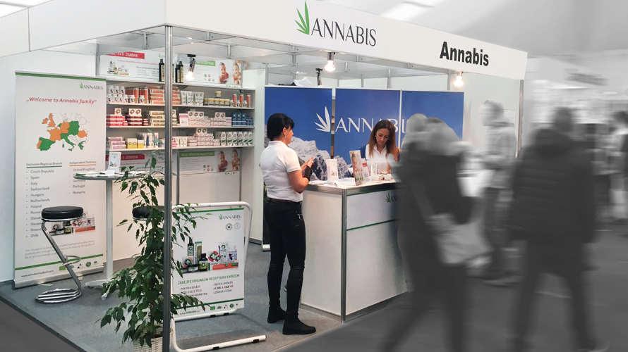 Photo Annabis beim Cannafest Hanf Fachmesse in Prag
